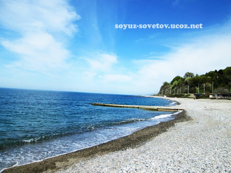 Пляж пансионата головинка фото
